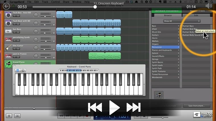 Learning GarageBand '11 per Windows 10