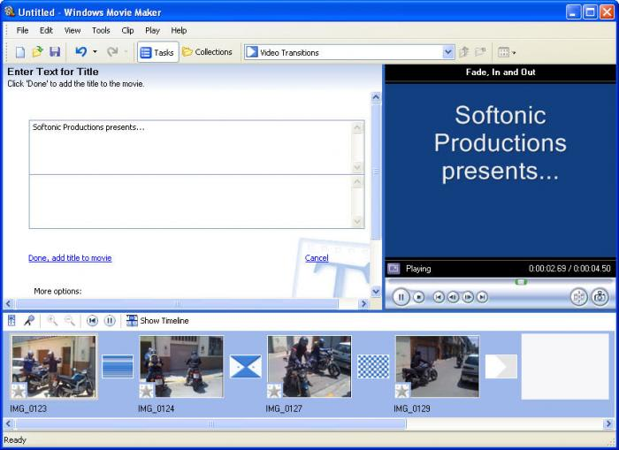 Movie Maker Software Free