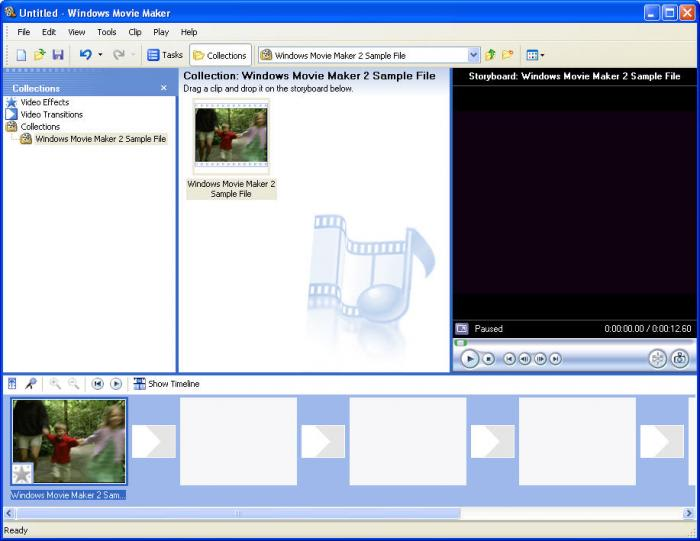 Windows 7 movie maker 6 Foto