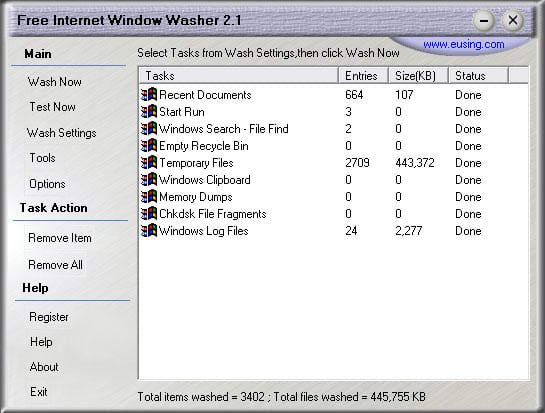 Free Internet Window Washer