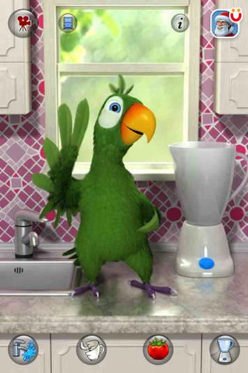 Pierre le perroquet qui parle