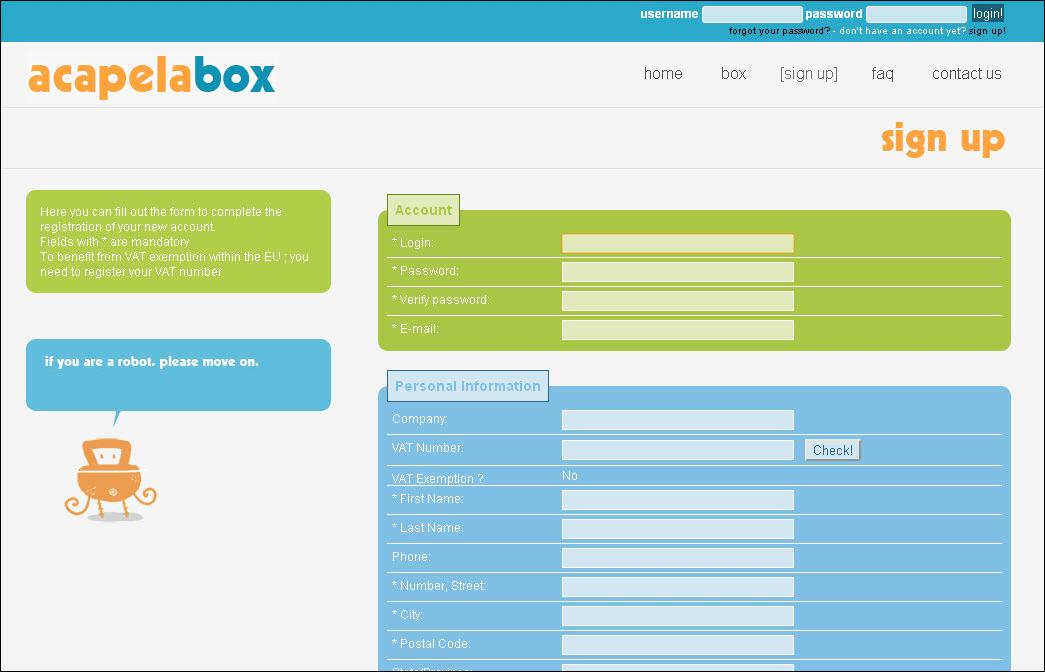 Acapela box download