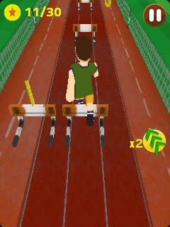 Summer Sport Athletics Run 3D