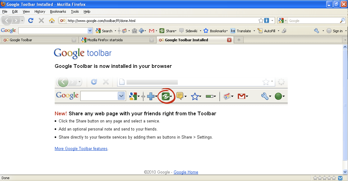 On Windows 10 App Download Google Toolbar For Firefox (7.1 ...