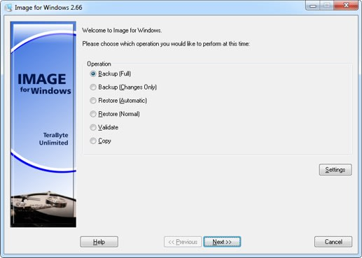 Image for Windows with IFD GUI