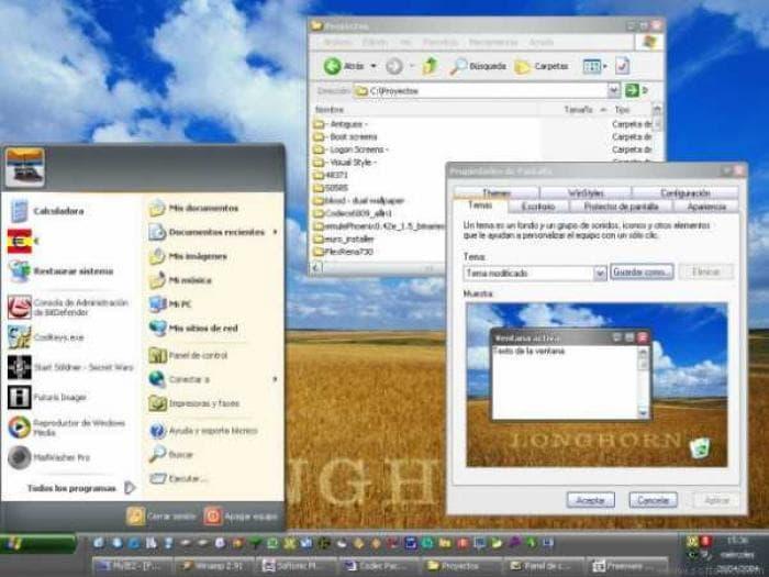 Windows Longhorn Slate
