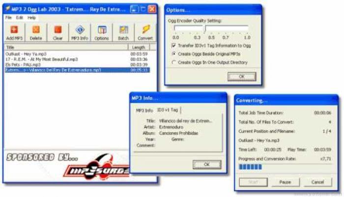 MP3 2 Ogg Lab