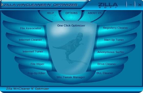 Zilla WinCleaner and Optimizer