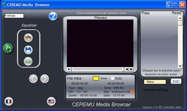 CEREMU Media Browser