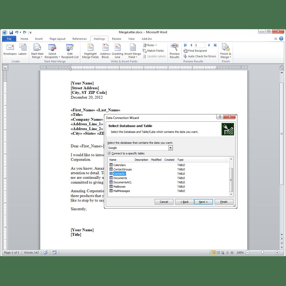 MailChimp ODBC Driver