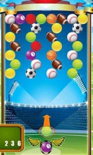 Bubble Shooter Sports