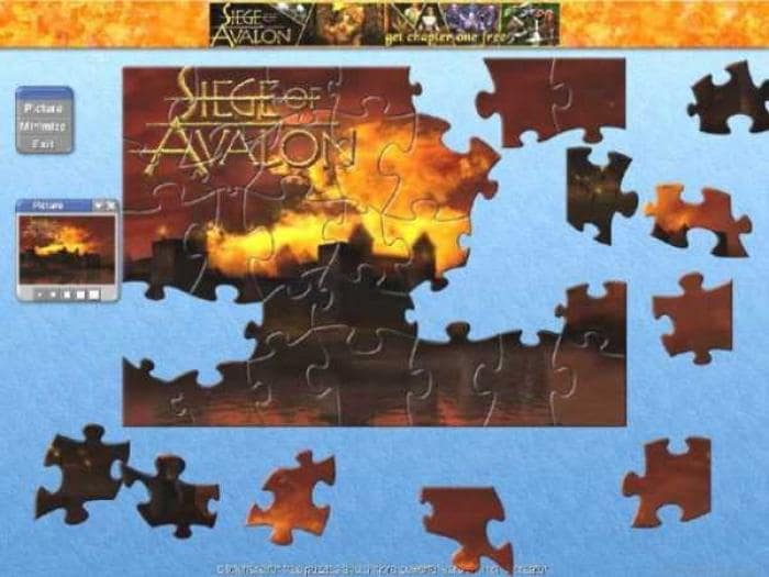 Siege Of Avalon Jigsaw Puzzle Collection