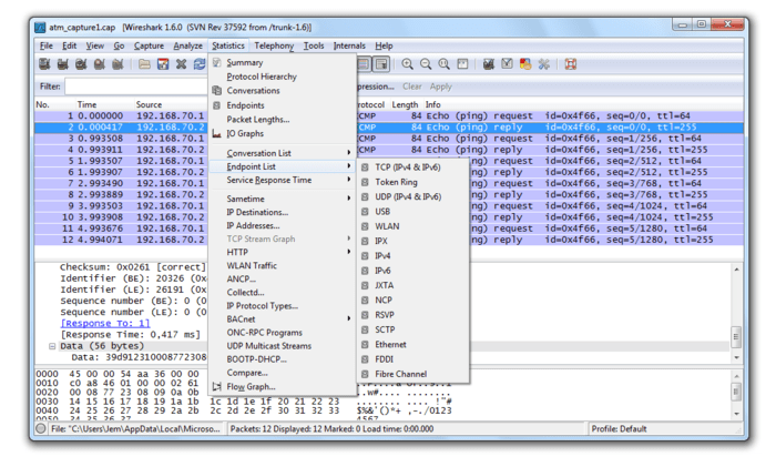 Wireshark 1.8.3 (64 bits)