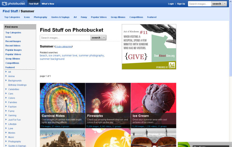 If you're an avid Photobucket user, you woke up to a nasty surprise this past week: the photo storage and hosting service changed their terms, breaking billions of images online in one fell swoop, without so much as a courtesy notice. Some explanation is probably in order. Photobucket has been.