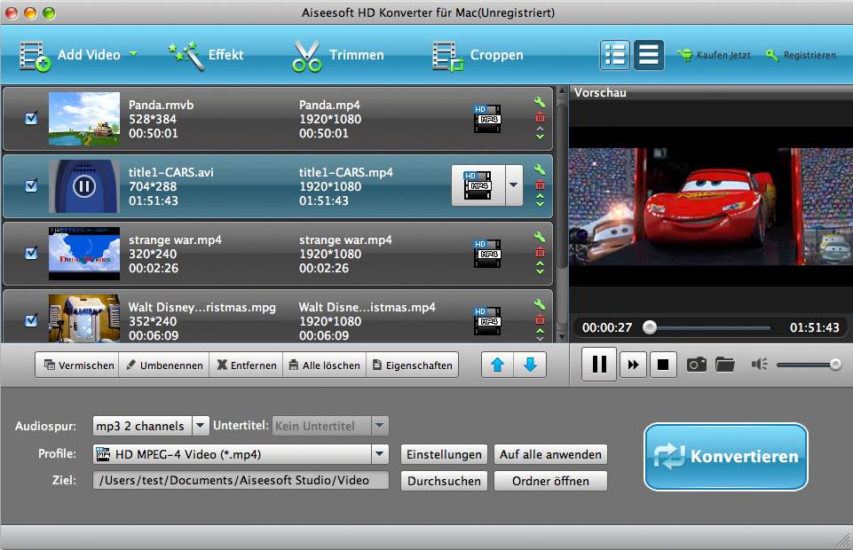 Aiseesoft HD Converter für Mac