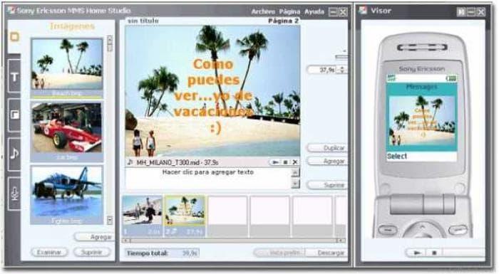 Sony Ericsson MMS Home Studio