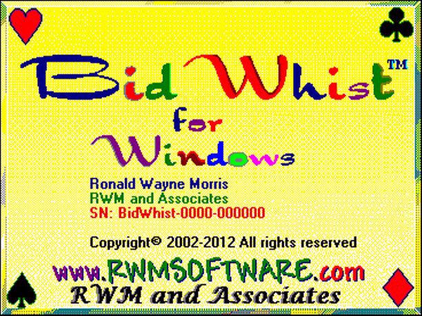 Bid Whist for Windows 13.01