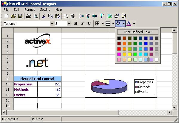 FlexCell Grid Control