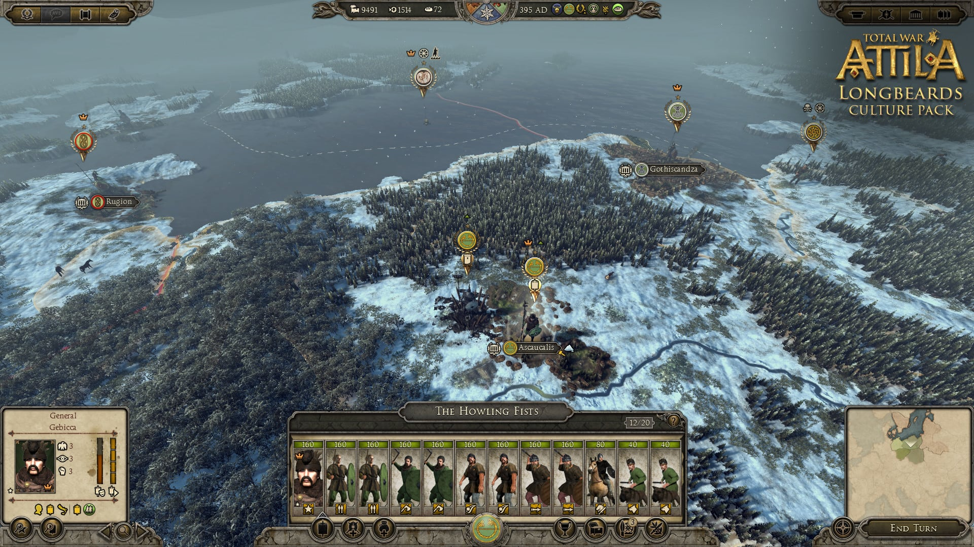 Total War: Attila Longbeards Culture Pack
