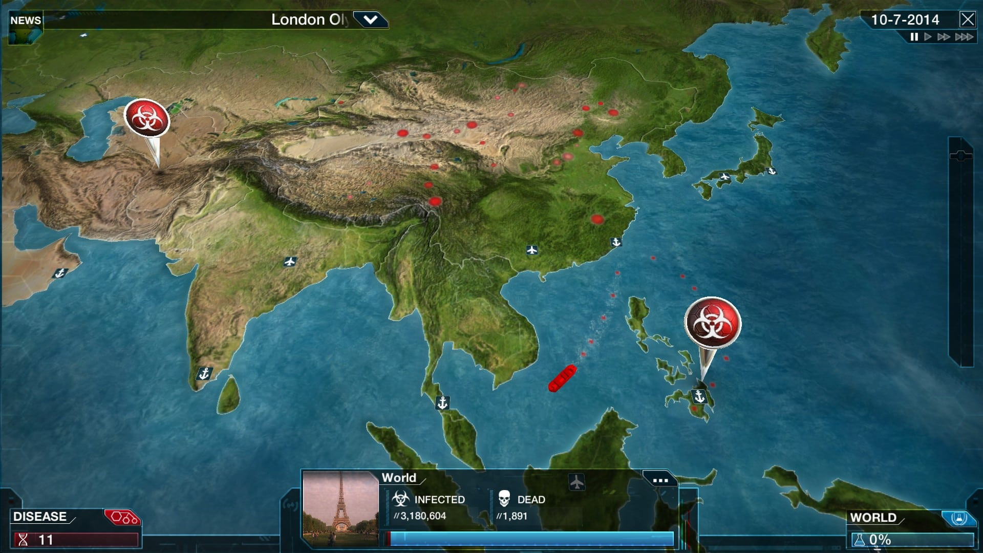 Plague inc evolved for mac download this is an improved version of plague inc a game available to download for iphone ipad ipod and android view full description gumiabroncs Gallery
