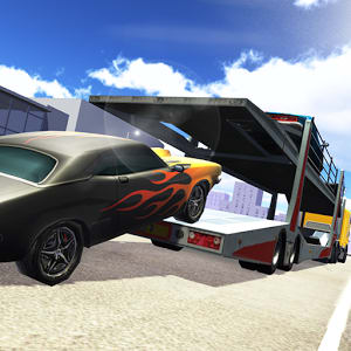 Retro Car Cargo Transport 2017 1.0.1