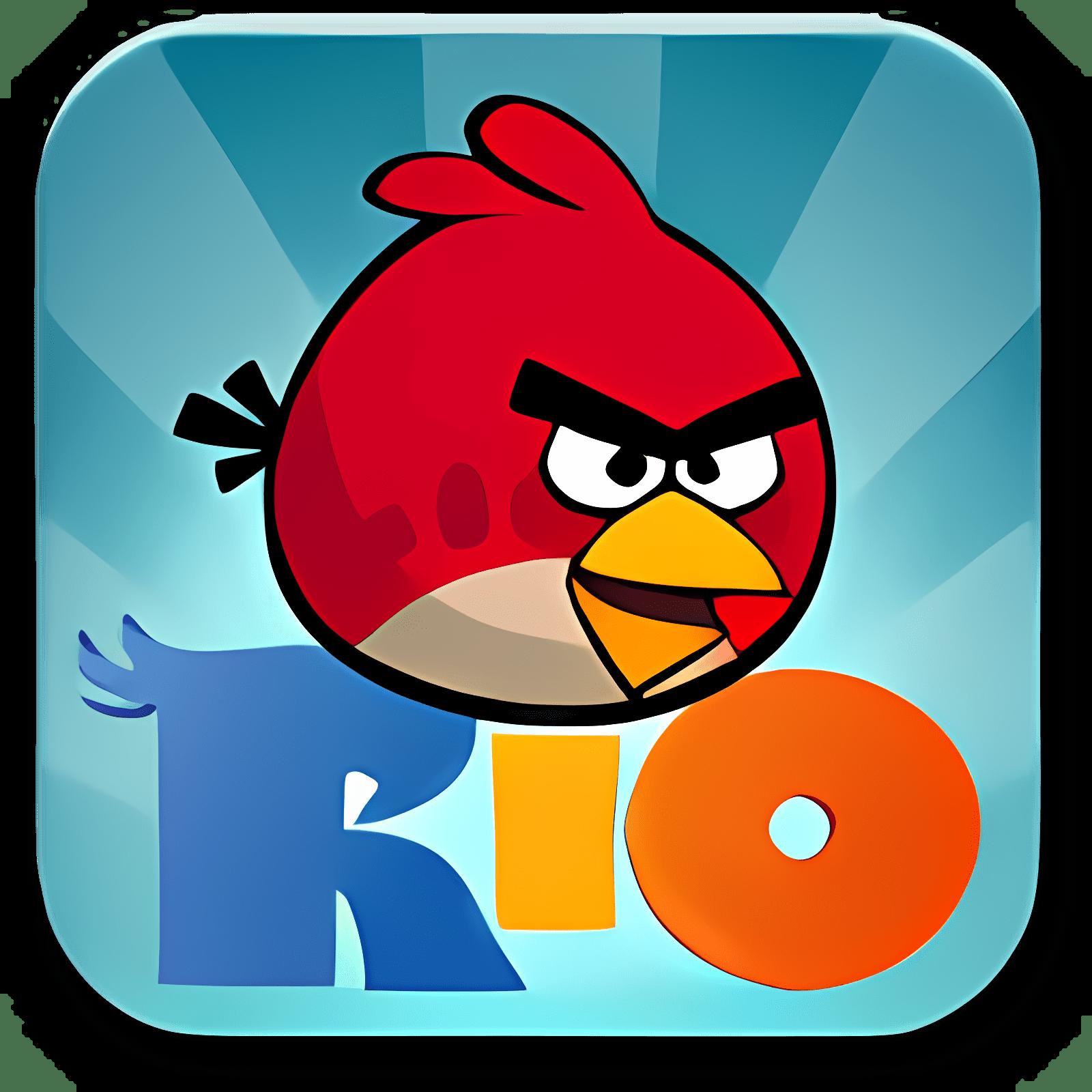 Angry Birds Rio - Fond d'écran