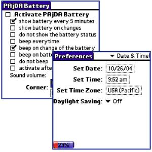 PAjDA Battery