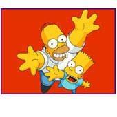 Homer & Bart Wallpaper