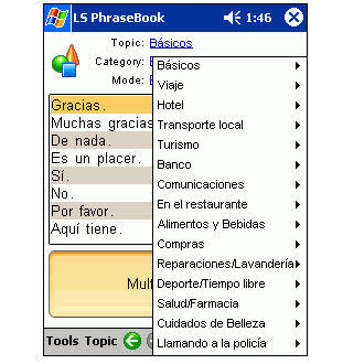 LingvoSoft Talking PhraseBook 2006 Spanish-Romanian