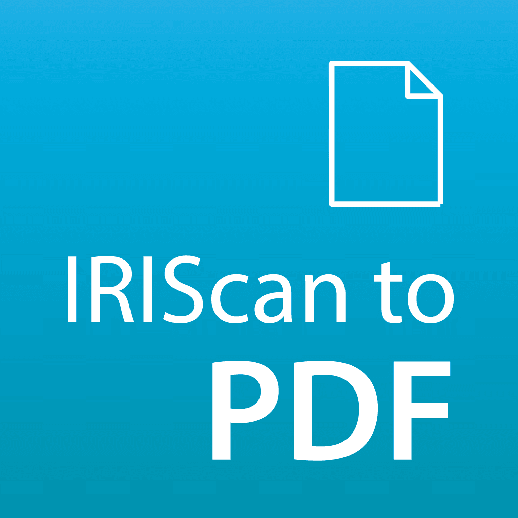 IRIScan to PDF - Paper to editable Word