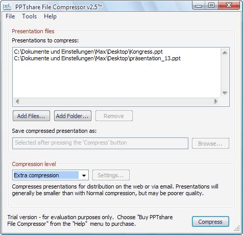 PPTshare File Compressor