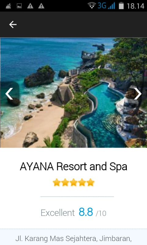 Hotels Reservation App