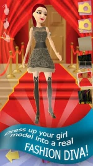 Girl games fashion diva dresses