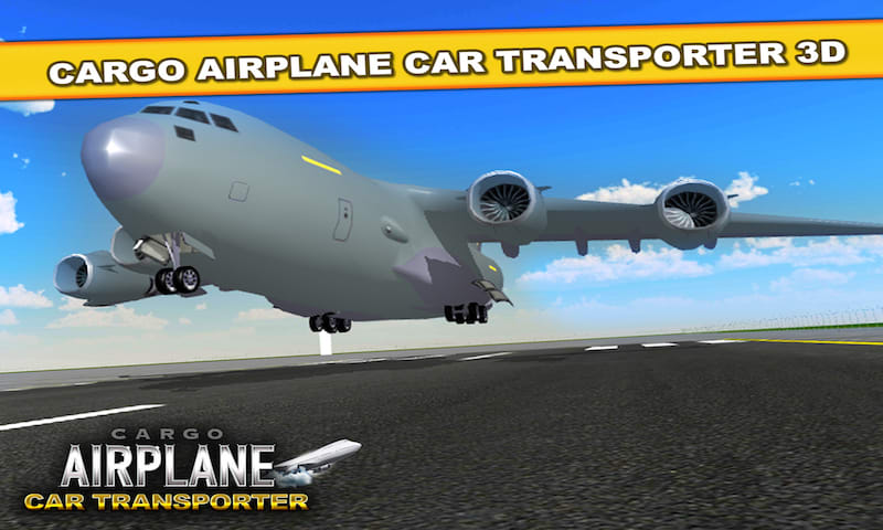 Cargo Airplane Car Transporter