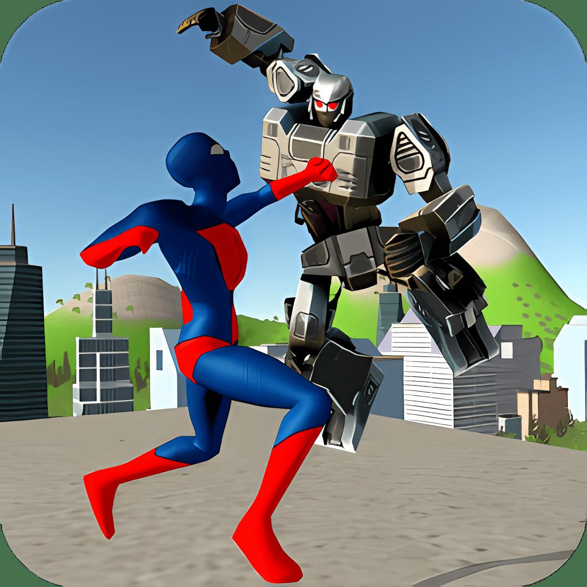 Strange Hero vs Robot X 1.0.0