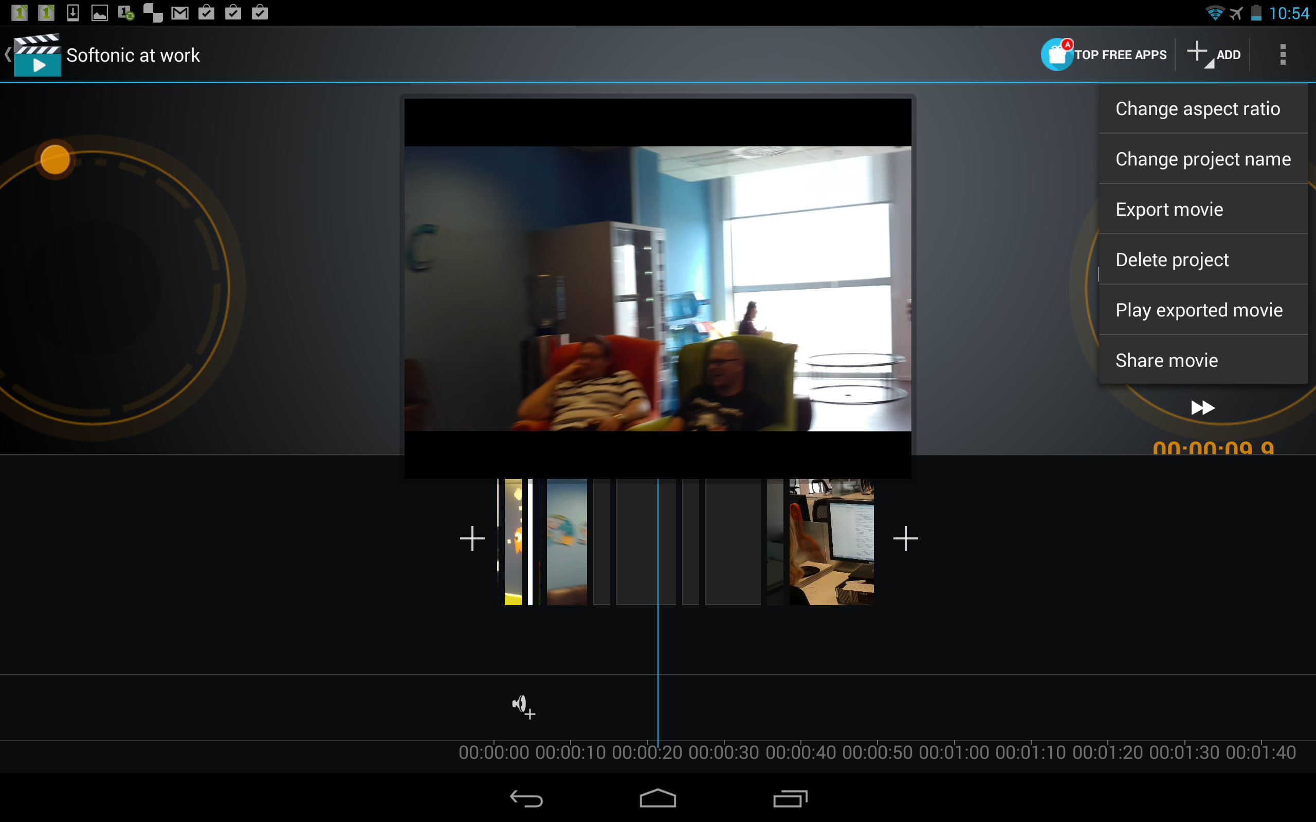 enter video maker movie editor a simple attractive app to quickly create movies on your android device view full description