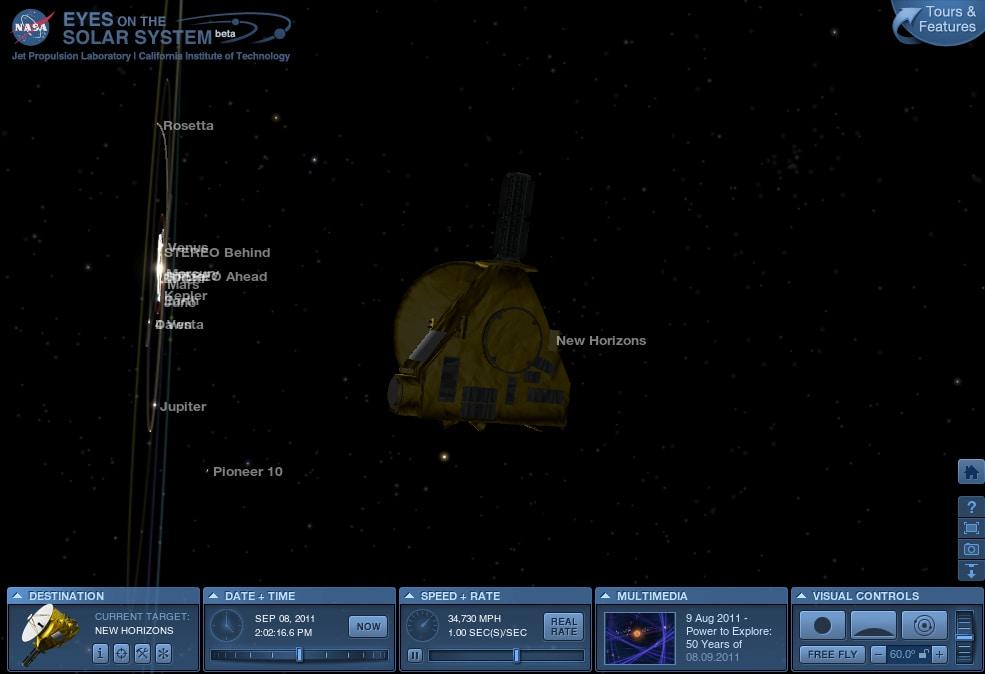 NASA Eyes on the Solar System