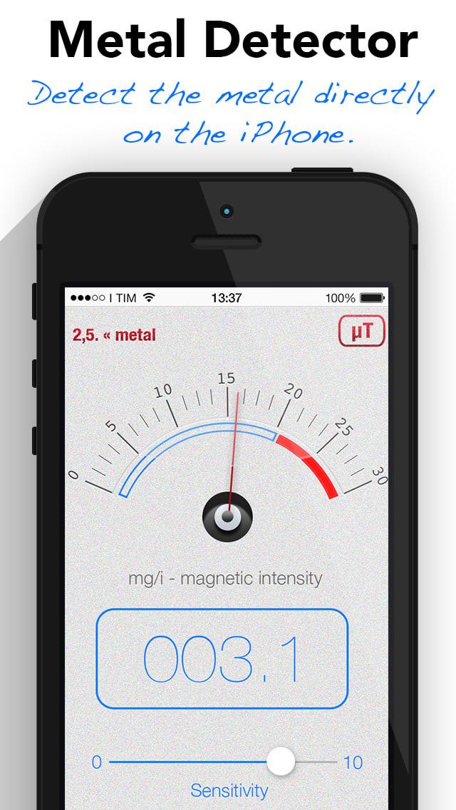 Detector de metales y magnetómetro - Buscar plata, oro, tesoros, reliquias y cosas magnético otro