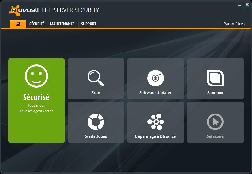 avast! File Server Security