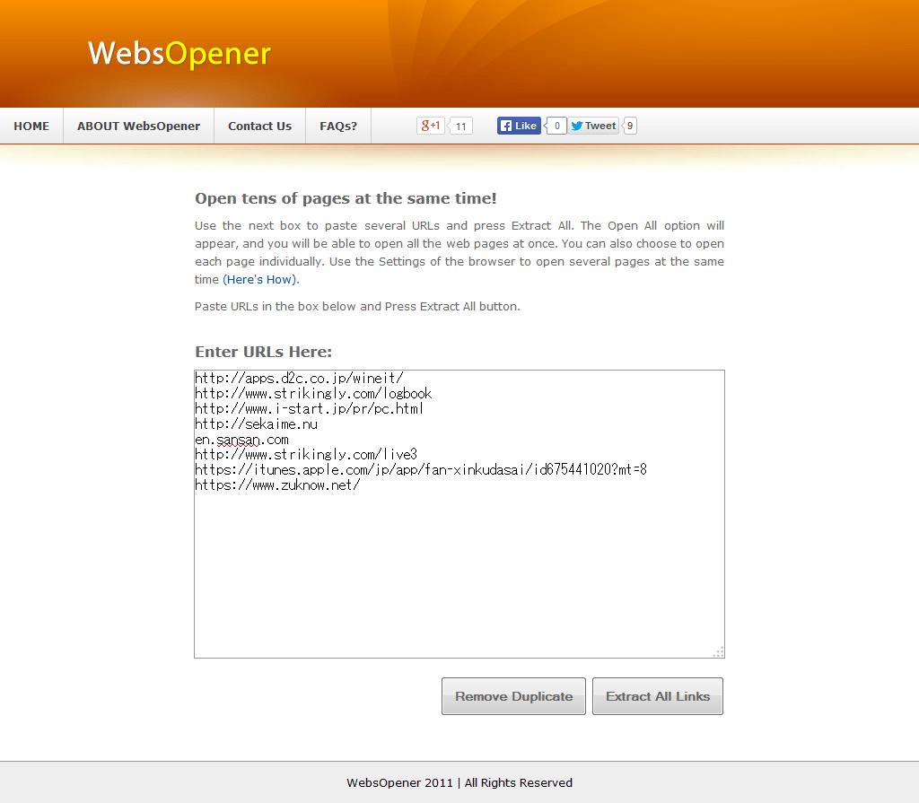 WebOpener