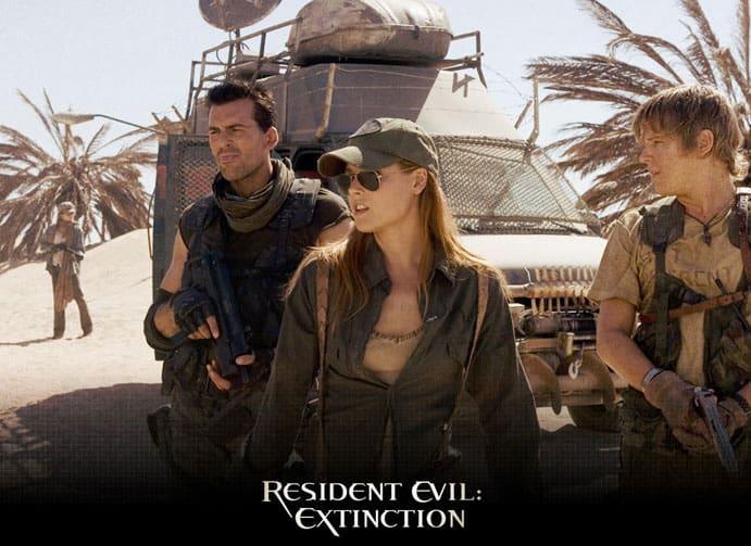 Resident Evil Extinction Bildschirmschoner