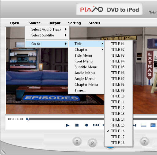 Plato DVD to iPod Converter