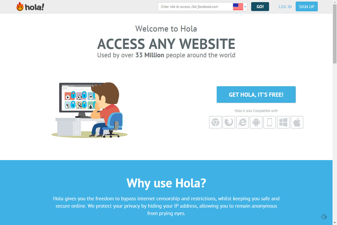 Hola Free VPN Proxy Unblocker - Chrome Web Store