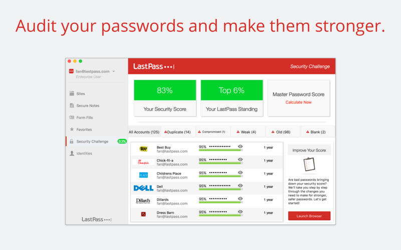 LastPass: Password Manager and Secure Vault