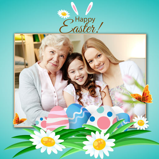 Best Easter Photo frames app and Easter images