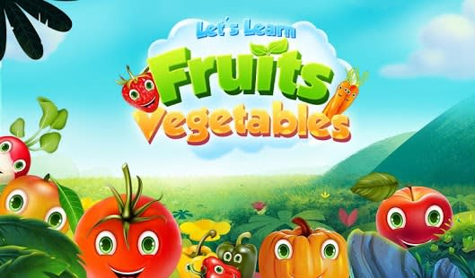 Let's Learn Fruits Vegetables