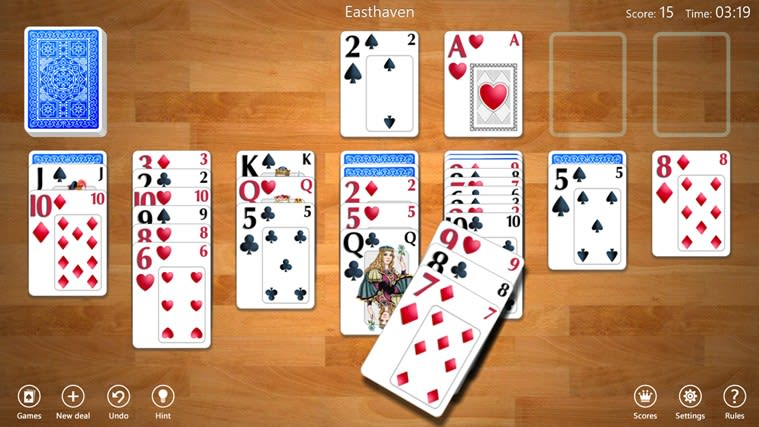 Klondike Solitaire Collection for Windows 10