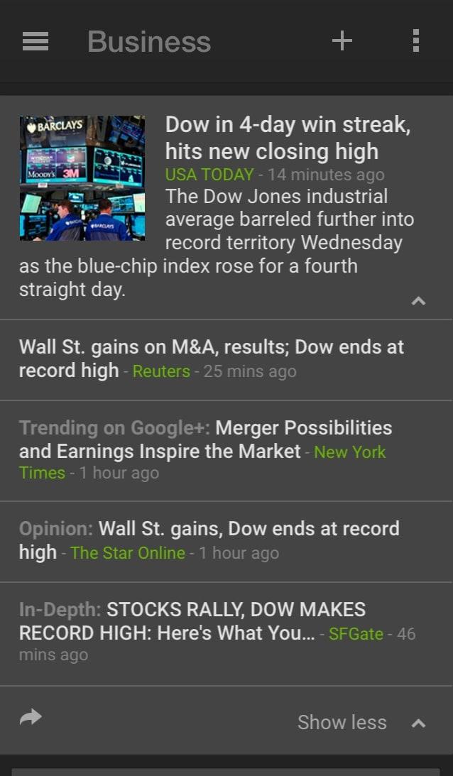 Google Notícias e Tempo