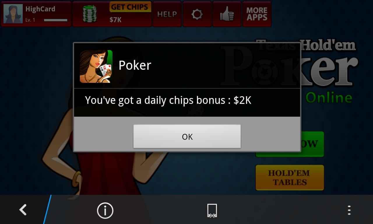 Texas Hold'em Poker Online - Holdem Poker Stars para