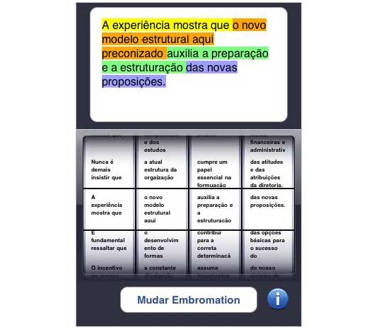 iEmbromation